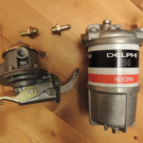 Pump and filter
