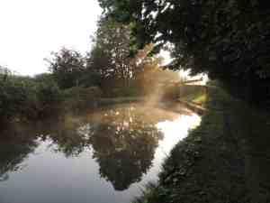 Sunrise on Aylesbury Arm