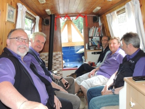 Chaplains, all aboard