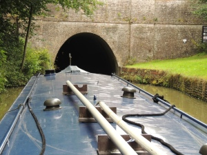 Tunnel entrance, just 2 miles long, be out in 40 minutes