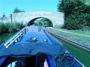 A bridge hole near Milton Keynes